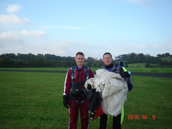 Paddy & Instructor