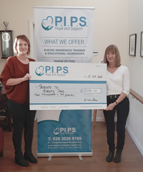 A Tribute to Kirsty Jess raises funds for PIPS Hope and Support