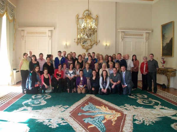 Bereaved Families Meet with President Mary McAleese