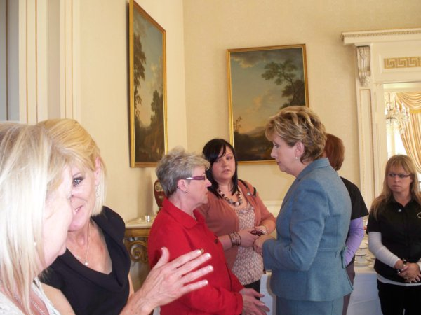 Mary McAleese Greeting