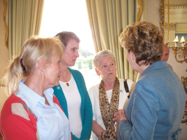 Mary McAleese Rosemary, Teresa and Patricia