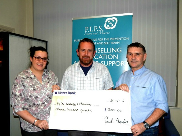 Paul Shevlin Fundraising for PIPS Newry & Mourne