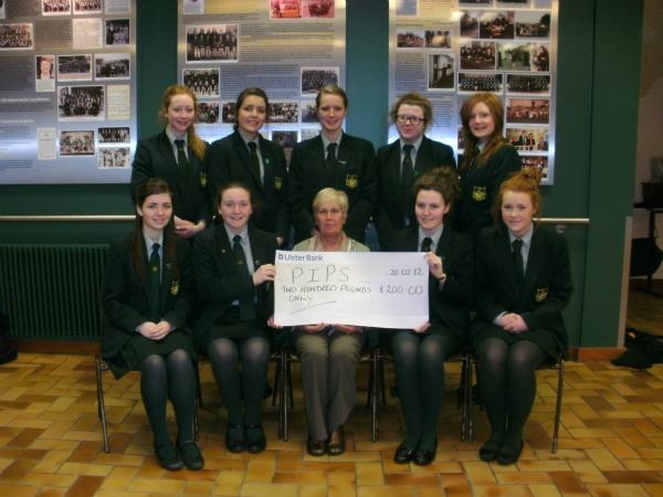 Sacred Heart Grammar School Newry donate their Formal Proceeds to PIPS NEwry and Mourne
