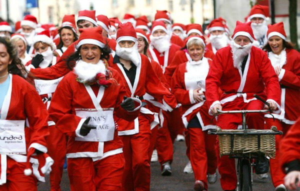 Newry`s Santa Fun Run 2013
