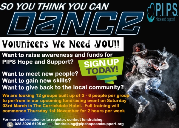 Recruiting for So You Think You Can Dance Participants