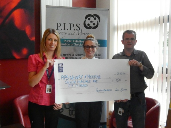 Teleperformance's Dress Down Fridays in aid of PIPS Newry & Mourne.