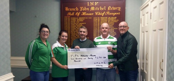 Willie Maley Celtic Supportwers Club Newry