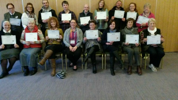 Cuan Mhuire train staff and volunteers in Applied Suiicde Intervention Skills Training ASIST