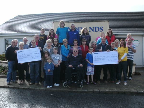 Organizers and fundraisers at the Sandylands funday