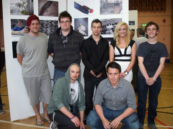 Students in  Southern Regional College, Banbridge put on an end of year show